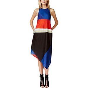 Colorblock Rachel Rachel Roy High-Low Dress(Small)